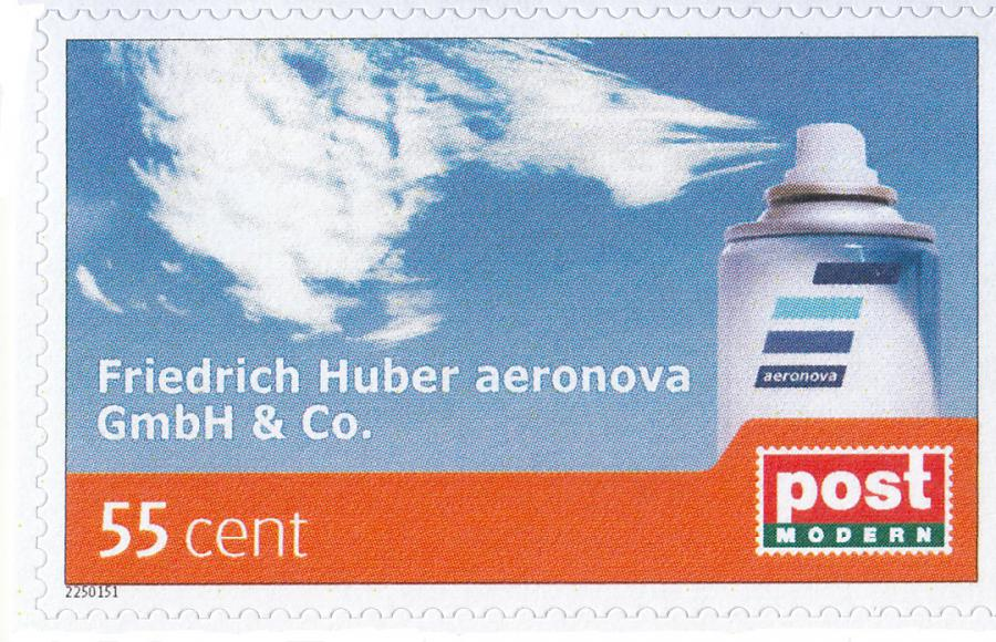 Herbst 2015: Briefmarken in aeronova - Aufmachung