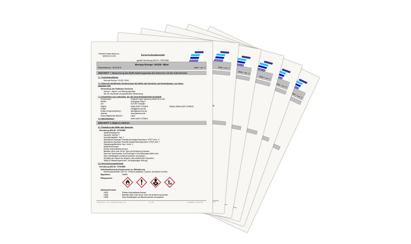 Sommer 2007: Sicherheitsdatenblätter in anderen Sprachen
